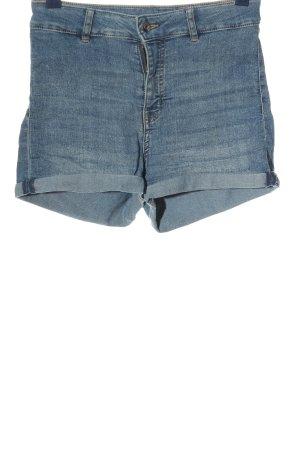 H&M Divided Short taille haute bleu style décontracté