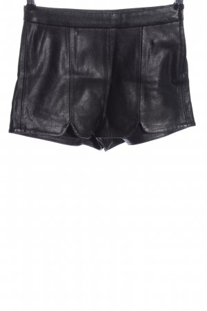 H&M Divided High-Waist-Shorts schwarz Casual-Look