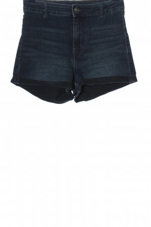 H&M Divided High waist short blauw casual uitstraling