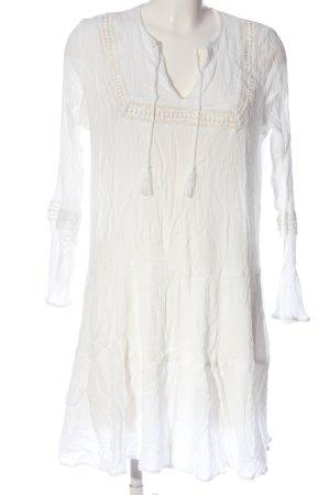H&M Divided Abito hippie bianco sporco modello web stile casual
