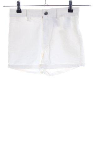H&M Divided Short moulant blanc élégant