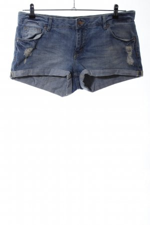 H&M Divided Hot Pants blau Casual-Look