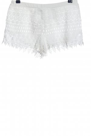 H&M Divided Short moulant blanc style décontracté