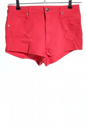 H&M Divided Hot Pants rot Casual-Look