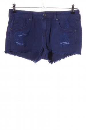 H&M Divided Hot Pants blau Casual-Look