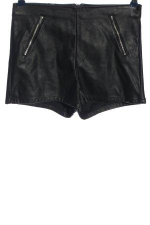 H&M Divided Krótkie szorty czarny W stylu casual