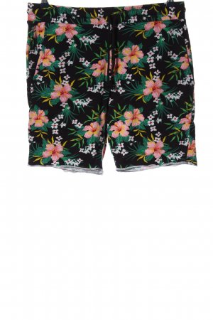 H&M Divided Hot Pants Allover-Druck Casual-Look