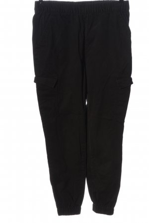 H&M Divided Hüfthose schwarz Casual-Look
