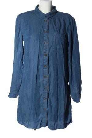 H&M Divided Blouse en jean bleu style décontracté