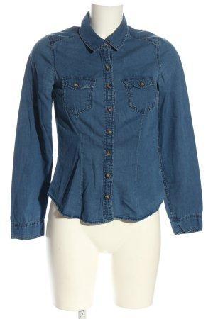 H&M Divided Chemise en jean bleu style décontracté