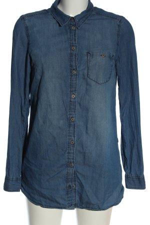 H&M Divided Spijkershirt blauw casual uitstraling