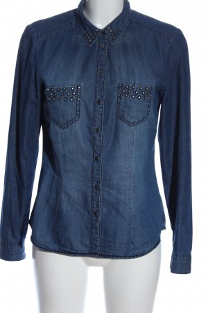 H&M Divided Denim Shirt blue casual look