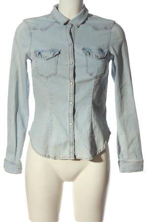 H&M Divided Denim Shirt blue casual look