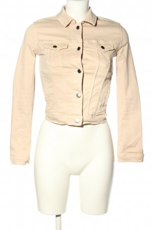 H&M Divided Jeansjacke creme Casual-Look