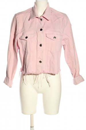H&M Divided Jeansjacke pink Casual-Look