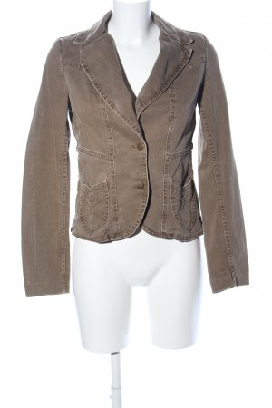 H&M Divided Jeansjacke braun Casual-Look