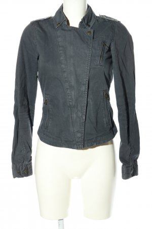 H&M Divided Jeansjacke hellgrau Casual-Look