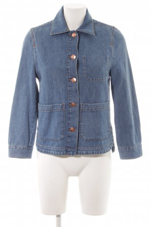 H&M Divided Jeansjacke stahlblau Casual-Look