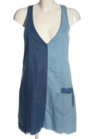 H&M Divided Vestido vaquero azul look casual