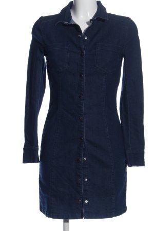 H&M Divided Jeanskleid blau Casual-Look