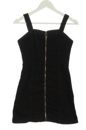 H&M Divided Robe en jean noir style décontracté