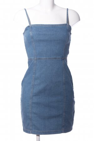 H&M Divided Denim Dress blue casual look