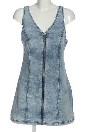 H&M Divided Denim Dress blue casual look