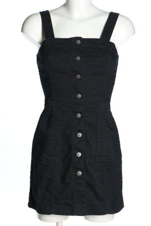 H&M Divided Jeansjurk zwart casual uitstraling