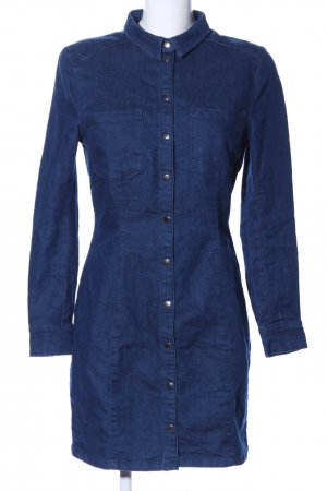 H&M Divided Vestido vaquero azul estilo «business»