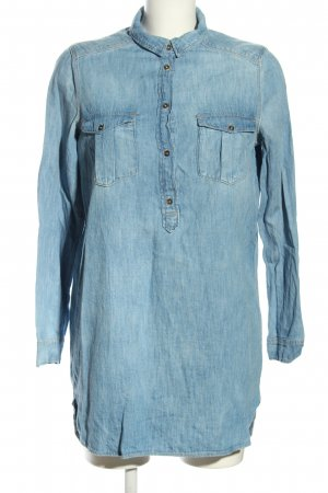 H&M Divided Jeanskleid blau Casual-Look