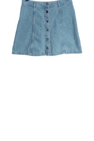 H&M Divided Jeansowa spódnica niebieski W stylu casual