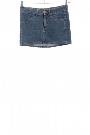 H&M Divided Jeansrock blau Casual-Look