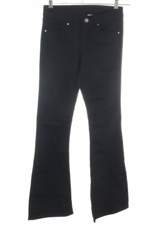 H&M Divided Jeans flare noir style décontracté