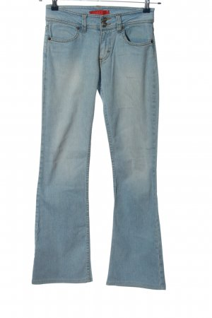 H&M Divided Jeansschlaghose blau Casual-Look