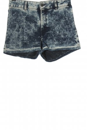 H&M Divided Denim Shorts blue-natural white casual look