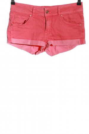 H&M Divided Jeansshorts rot Casual-Look