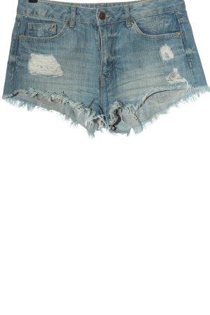 H&M Divided Jeansowe szorty niebieski W stylu casual
