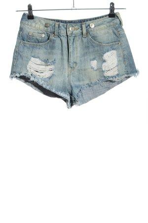 H&M Divided Short en jean bleu style décontracté