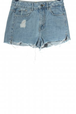 H&M Divided Jeansshorts blau Casual-Look