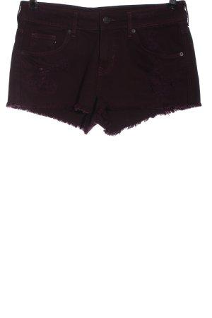H&M Divided Pantaloncino di jeans marrone stile casual