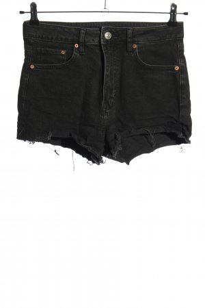 H&M Divided Jeansshorts schwarz Casual-Look