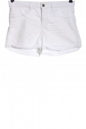 H&M Divided Jeansshorts weiß Casual-Look