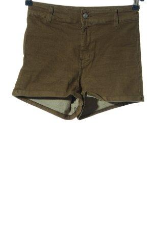 H&M Divided Short en jean kaki style décontracté