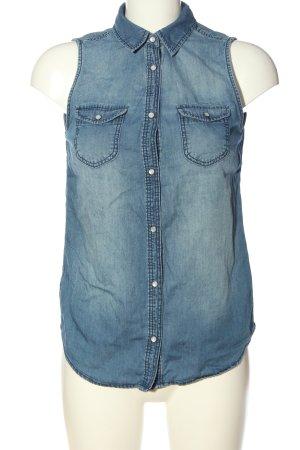 H&M Divided Gilet en jean bleu style décontracté