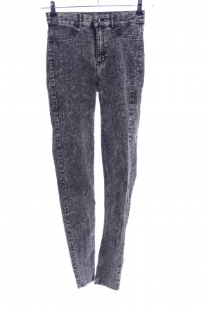 H&M Divided Jeggings hellgrau meliert Casual-Look