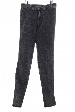 H&M Divided Jeggings schwarz meliert Casual-Look