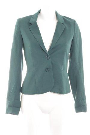 H&M Divided Jerseyblazer grün Business-Look