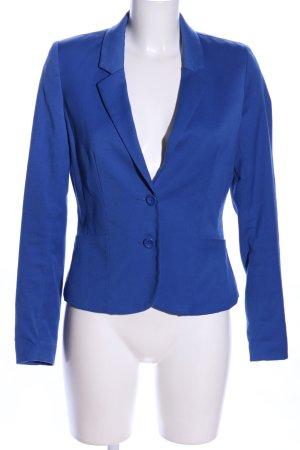 H&M Divided Jerseyblazer blau Business-Look