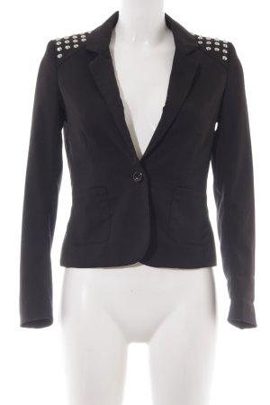 H&M Divided Jerseyblazer schwarz Casual-Look