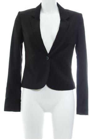 H&M Divided Jerseyblazer schwarz Elegant